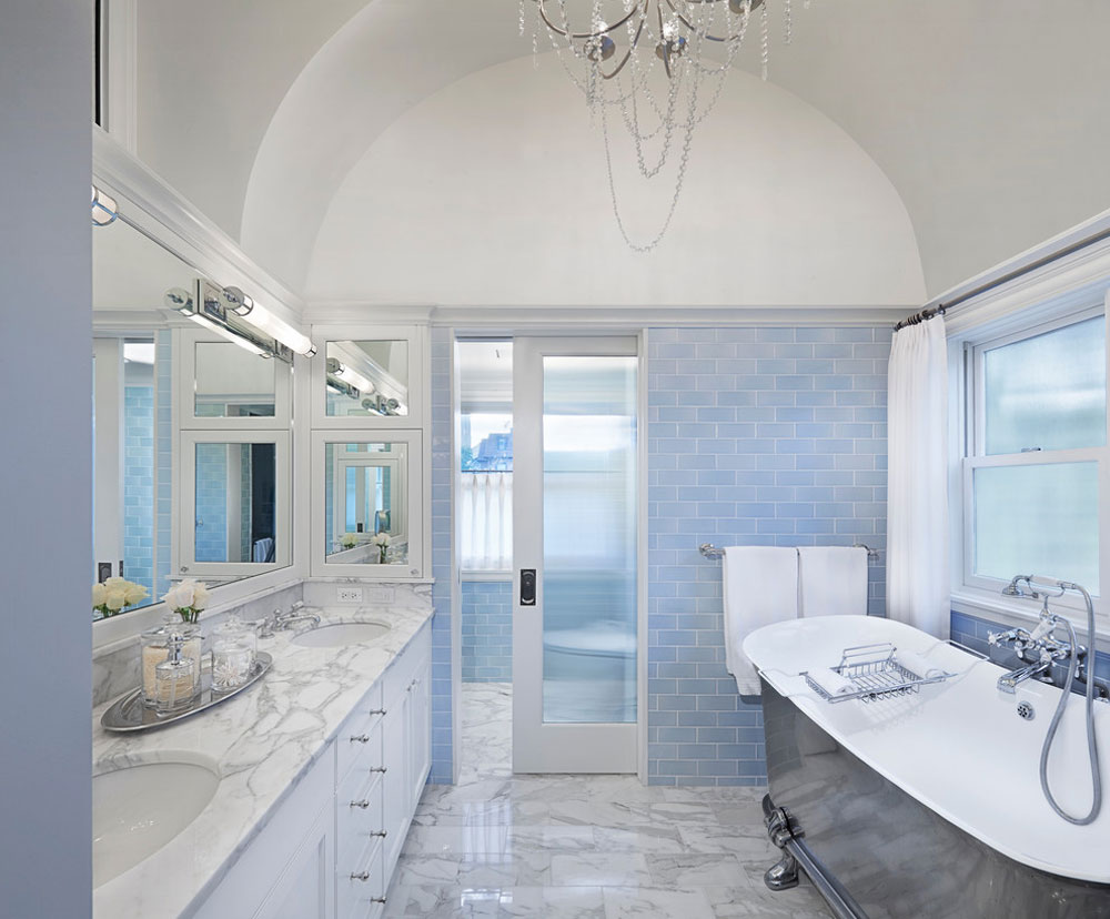 Blue bathroom ideas Design dcor and accessories