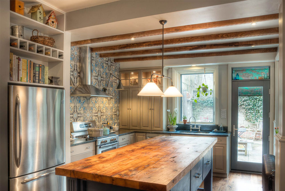 Wood Countertops: Solid, Rustic, Natural Kitchen Counters