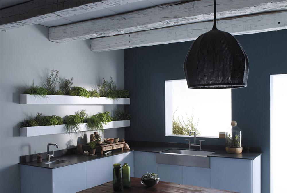 Kitchens By Kohler Hanging Planters: Indoor Flower Pot Baskets