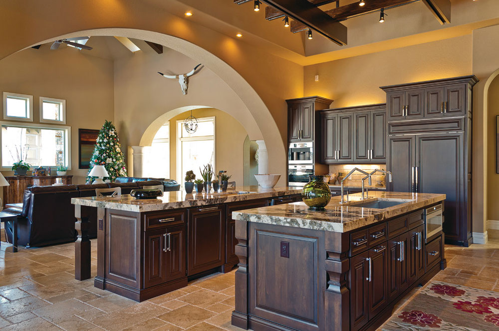 Kitchens By Stadler Custom Homes Rustic Kitchen Design: Cabinets, Tables