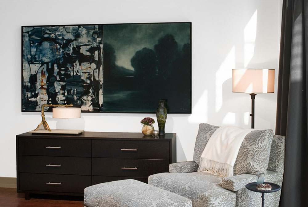 Koehler Loft Master Bedroom Sitting Area By Cravotta