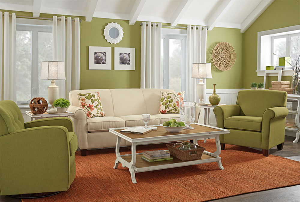 Living Rooms By Woodchucks Fine Furniture Decor Green Living Room