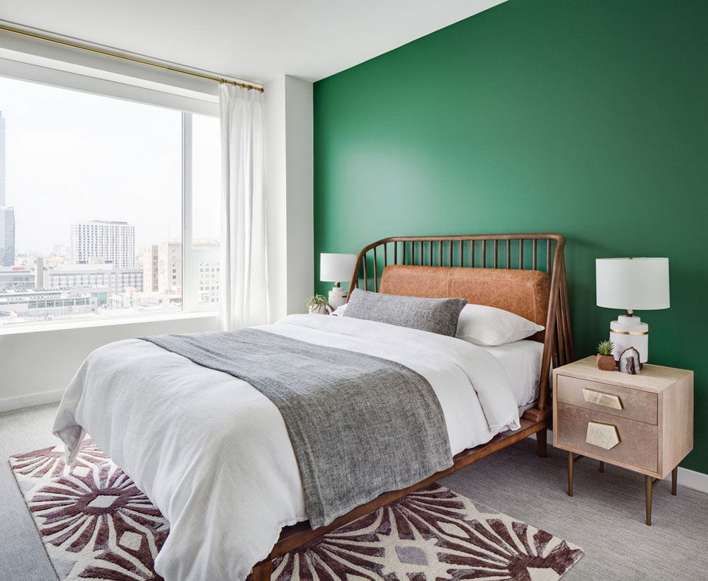 green bedroom ideas design decoration and accessories - Green Bedroom Ideas