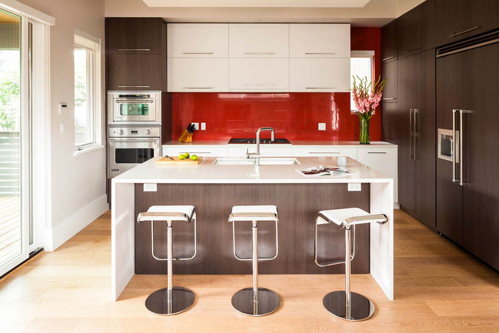 Magnusson Residence By Architrix Design Studio Inc. Red Kitchen Part 51