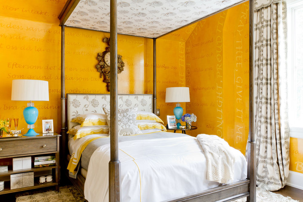 Marshall Watson Interiors By Rikki Snyder Yellow Bedroom Design Ideas