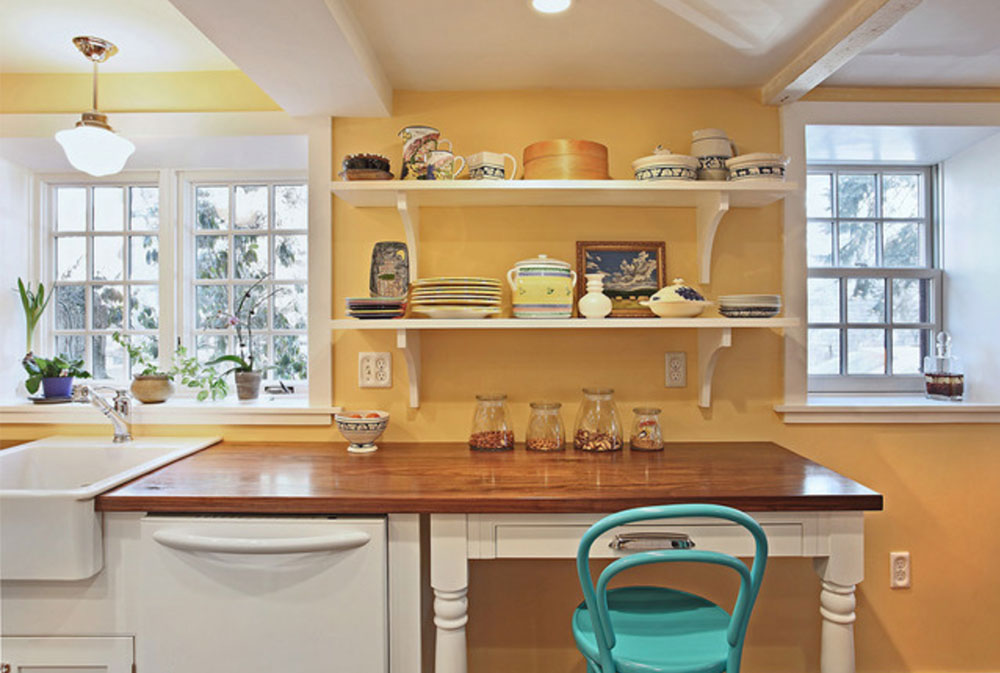 Melrose-Kitchen-by-Luciano-Group- Wood Countertops: Solid, Rustic, Natural Kitchen Counters