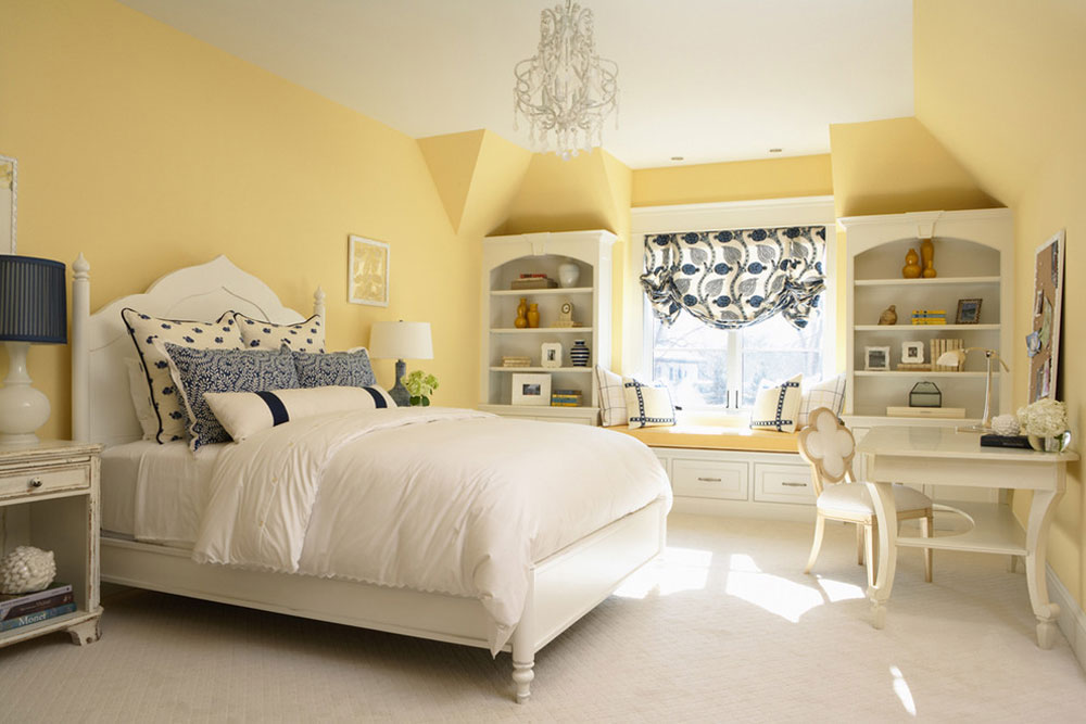 Yellow Bedroom Design Ideas Wall Decoration Accessories