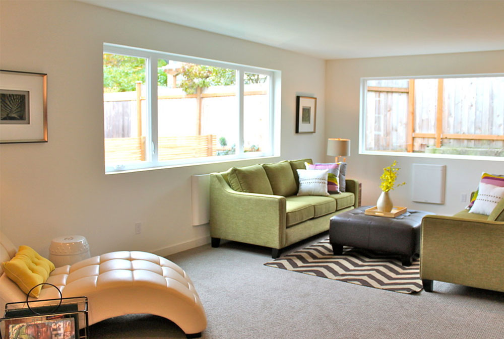 Modern Green Seattle Remodel By Seattle Staged To