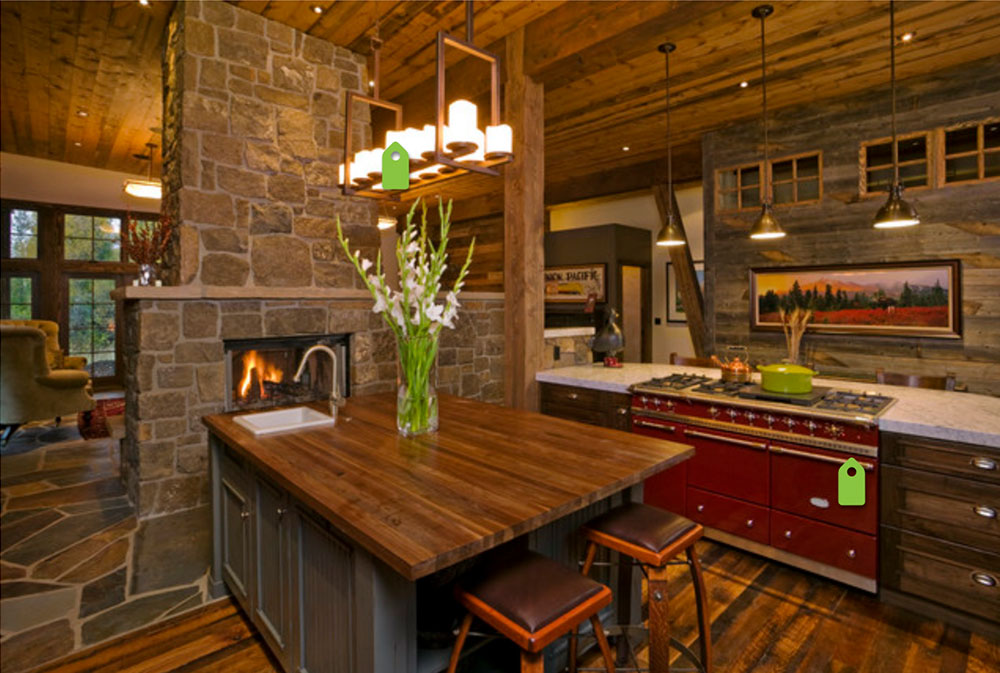 Mountain-Contemporary-by-Fedewa-Custom-Works- Wood Countertops: Solid, Rustic, Natural Kitchen Counters