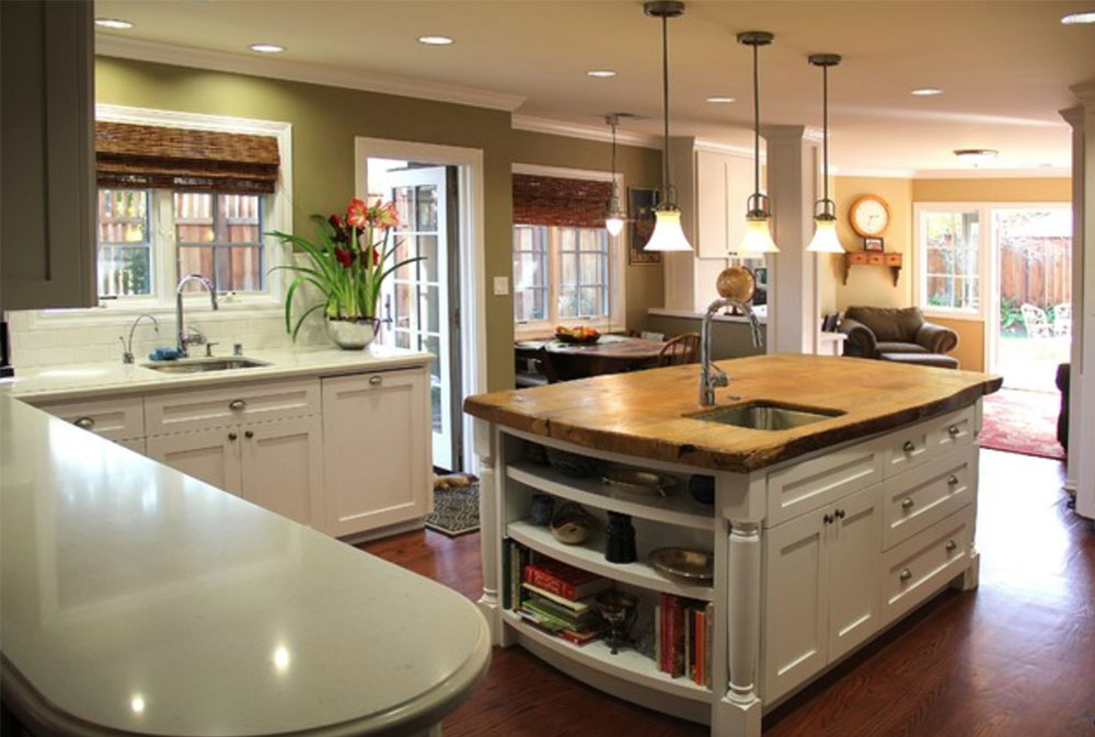 New-Kitchen-by-Madson-Design- Wood Countertops: Solid, Rustic, Natural Kitchen Counters