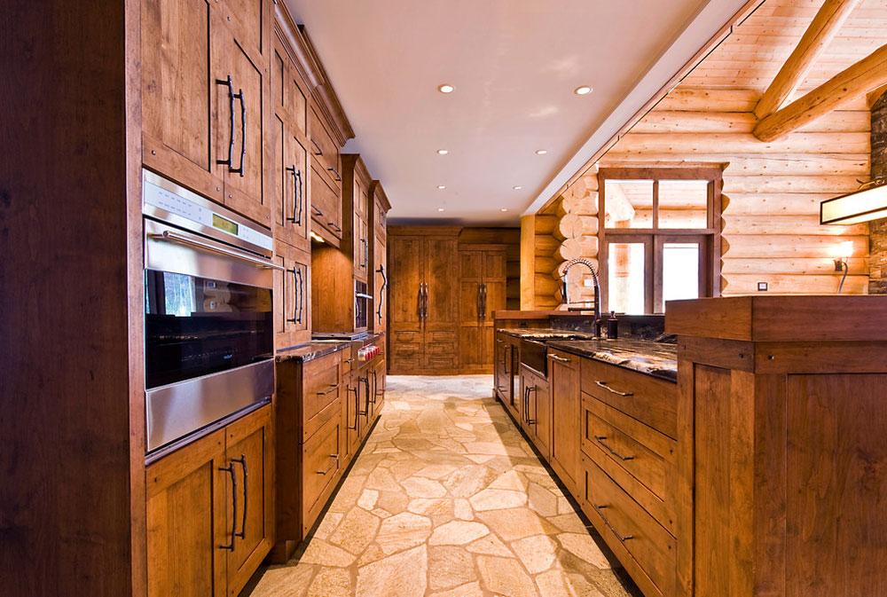 Okanagan Log Home By Sticks Stones Design Group