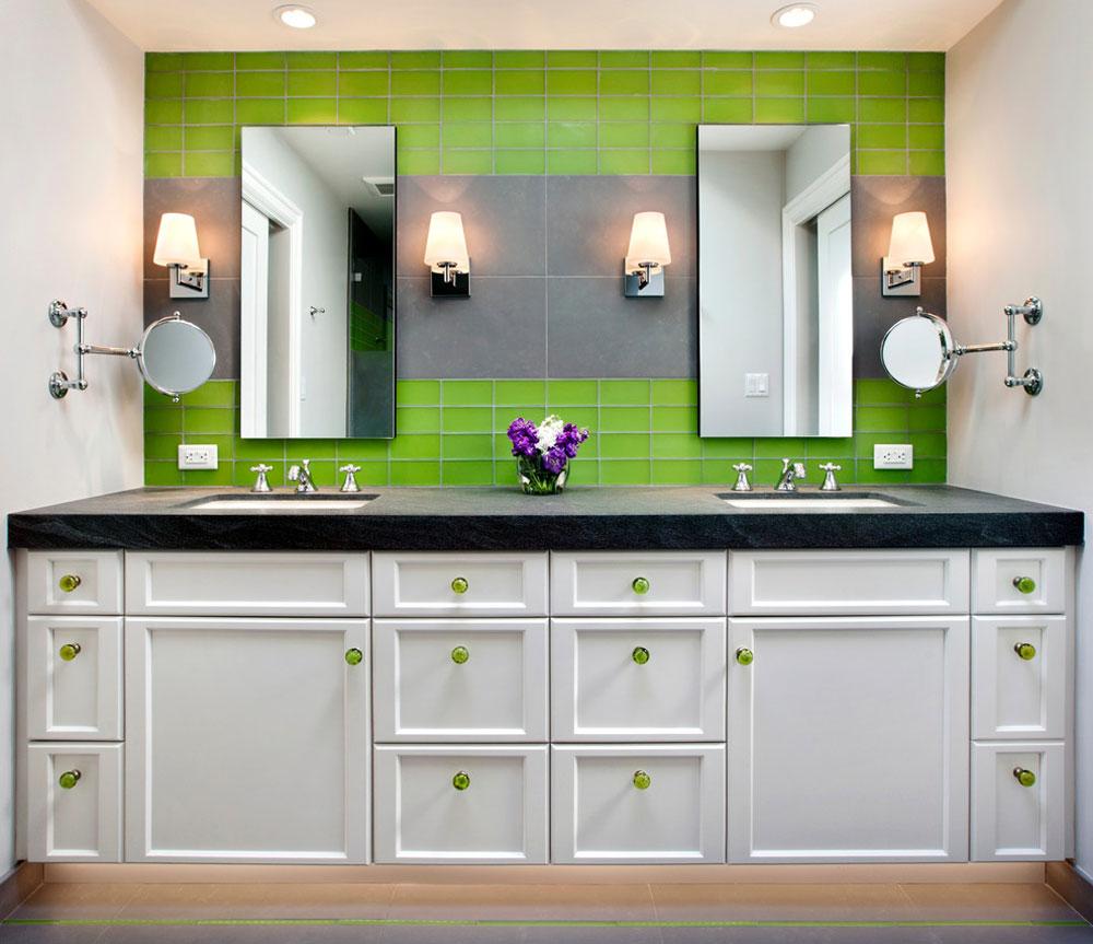 Ost By J.P. Lindstrom Inc. 1 Green Bathroom Ideas: