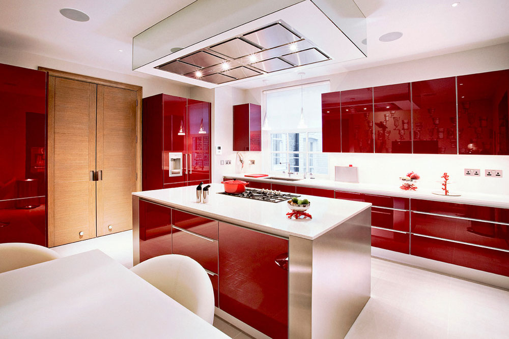 Red Kitchen Design Ideas Part - 44: Palace-Court-Kitchen-by-Roselind-Wilson-Design Red Kitchen Design