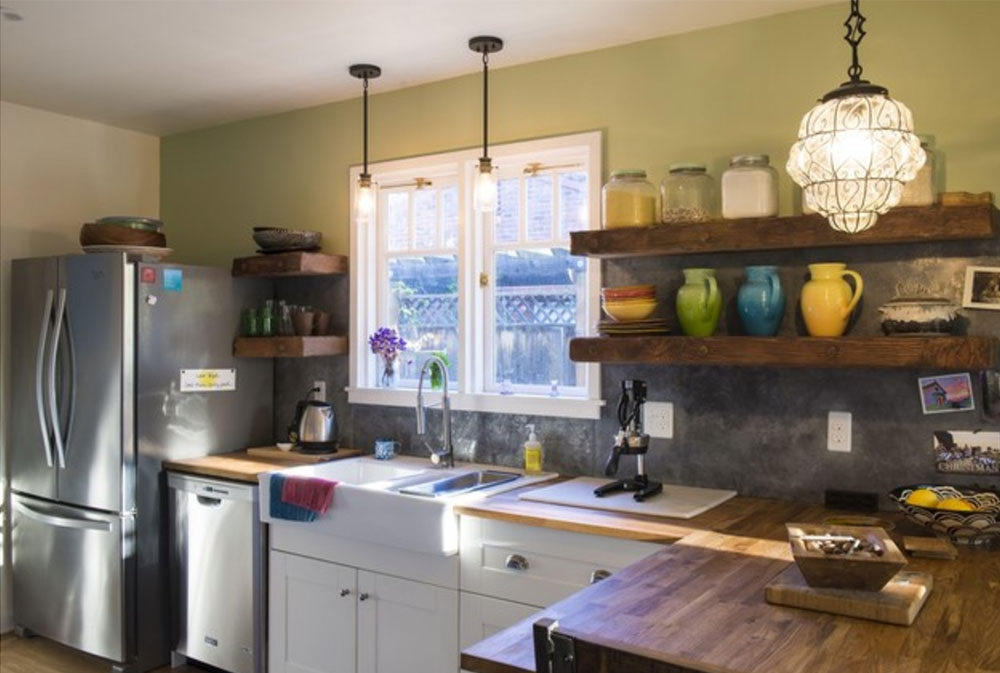 Pershing-Ave-by-Stony-Creek-Construction- Wood Countertops: Solid, Rustic, Natural Kitchen Counters