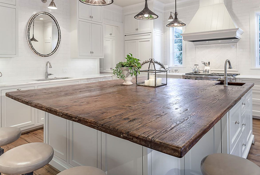 Project-One-by-Carl-Mayfield-Architect-Photographer- Wood Countertops: Solid, Rustic, Natural Kitchen Counters