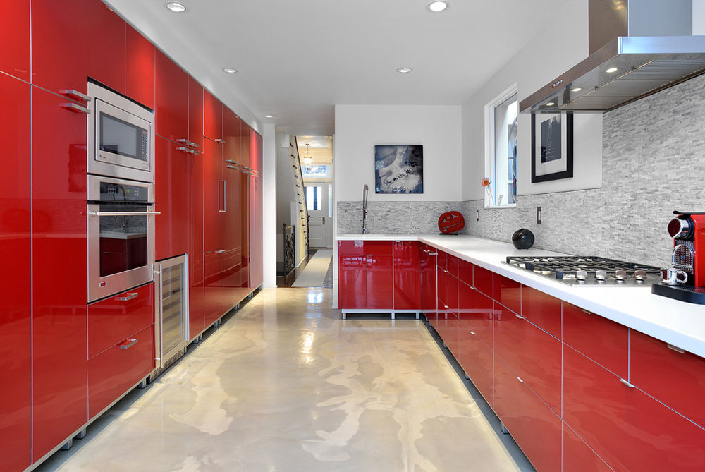 Red Kitchen Design Ideas Walls And Décor Enchanting Red Kitchen Ideas