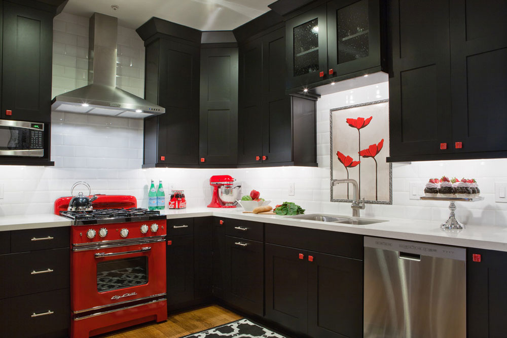 Red Kitchen Design: Ideas, Walls, And Décor