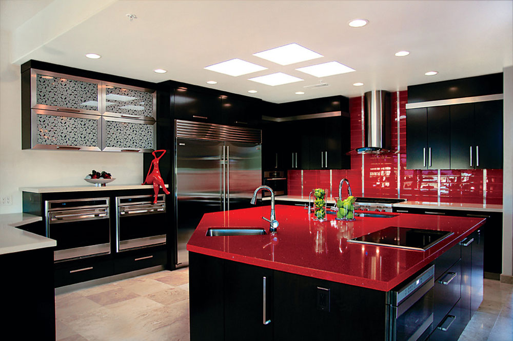 Marvelous Rysso Peters By Rysso Peters  Red Kitchen Design: Ideas,