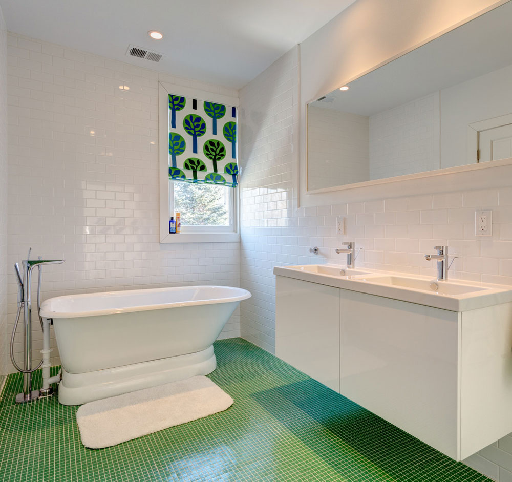 Green Bathroom Ideas: Décor, Lighting, Accessories, And Decorations
