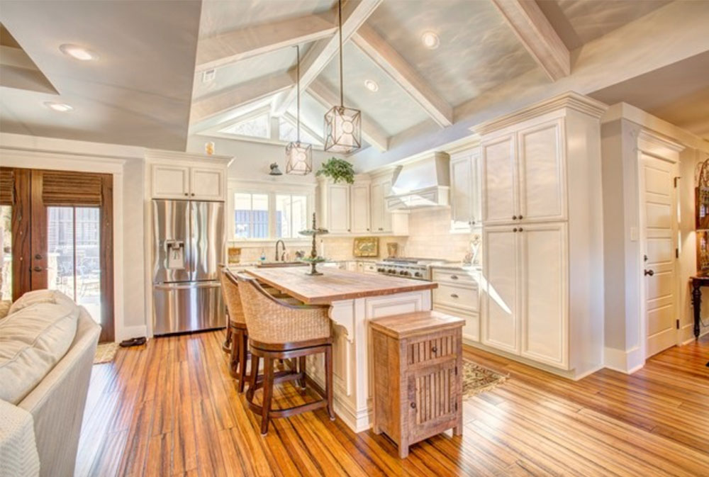 Twickenham-Histroic-Renovation-and-addition-by-VTS-Homes- Wood Countertops: Solid, Rustic, Natural Kitchen Counters