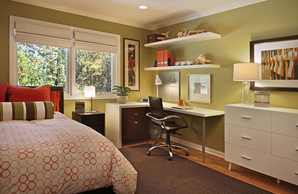 Villa-Park-Home-by-Cathy-Morehead- Green Bedroom Ideas: Design, Decoration, And Accessories