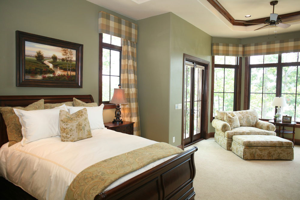 master bedroom by Fowler Interiors  Green Bedroom Ideas  Design. Green Bedroom Ideas  Design  Decoration  And Accessories