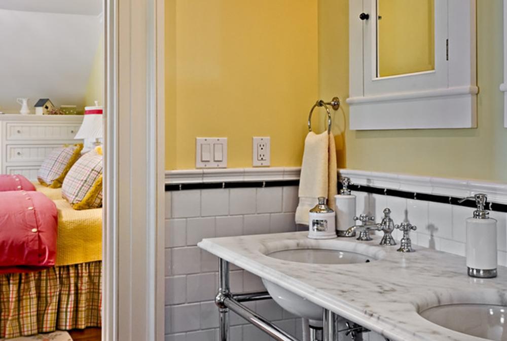 crisp architects by crisp architects1 yellow bathroom ideas decor curtains - Yellow Bathroom Ideas