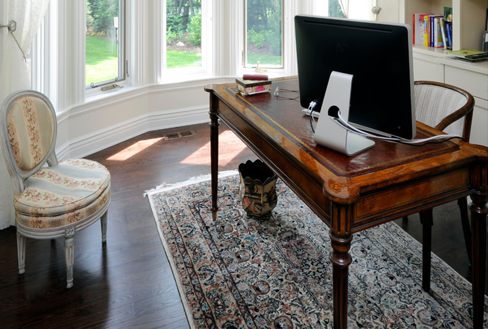 davidson-project-by-chuck-mills-design Secretary Desk: Modern, Vintage, Small, Or Large