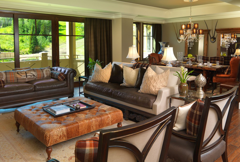Traditional Living Room By Alder And Tweed Chesterfield Sofa: