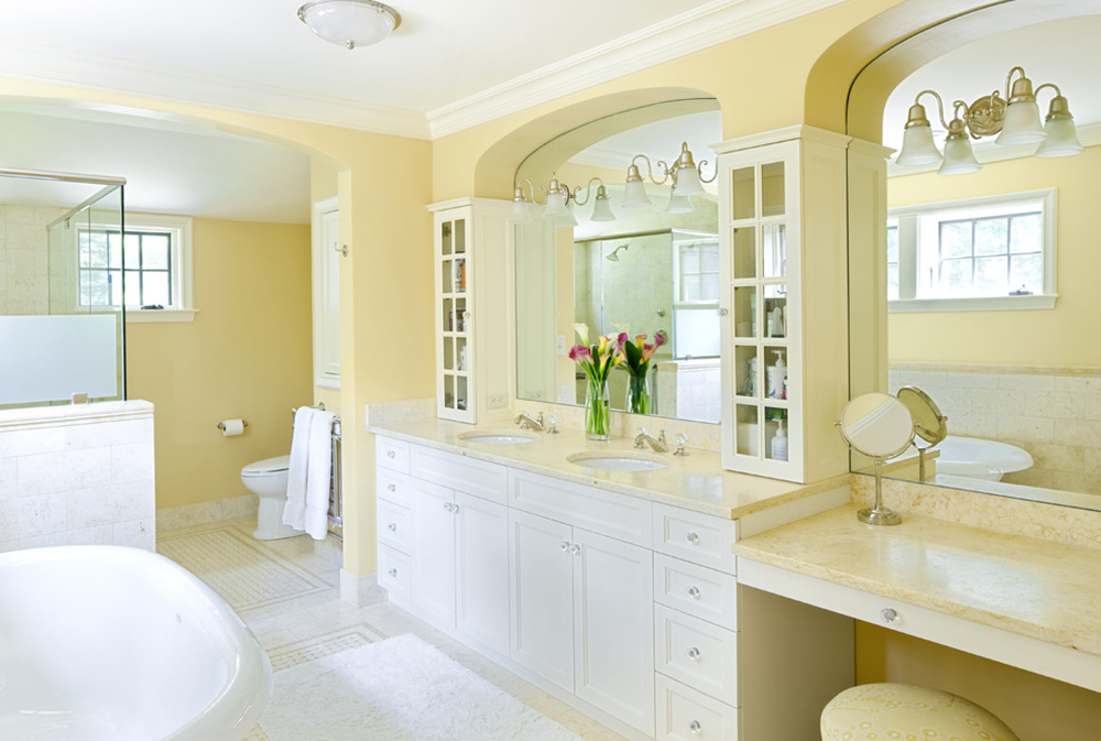 Charmant Tudor Addition Master Bath By Lda Architecture Interiors Yellow