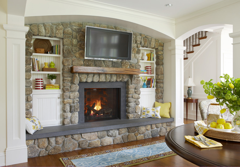Fireplace Hearth Decor Stone And Cover