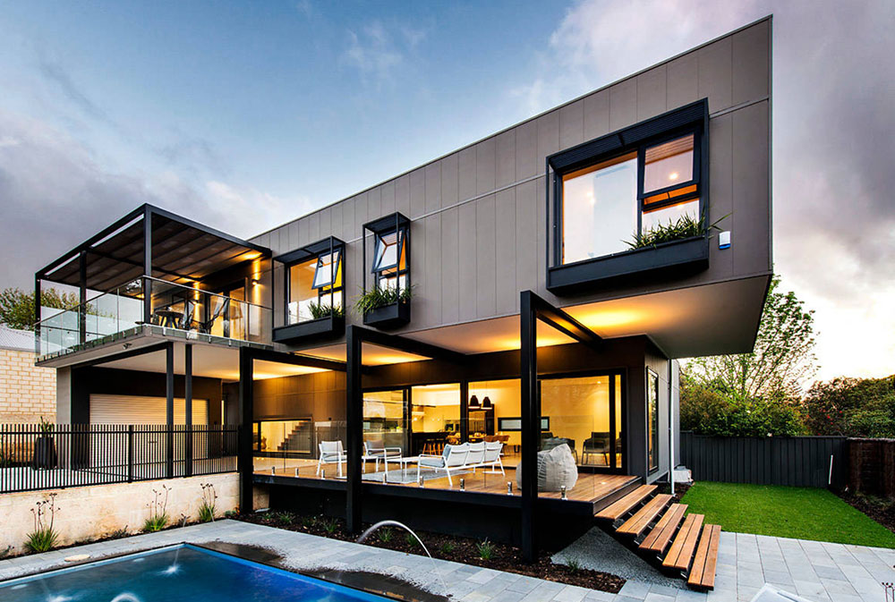 cool architecture design. Warden-St-Residence-by-Mata-Design-Studio-1 Modern Cool Architecture Design I