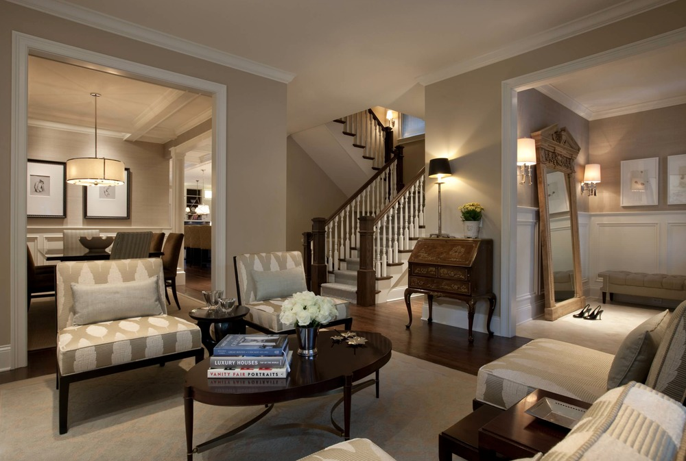 Living Room By Michael Abrams Interiors Wood Furniture Design: Showcase