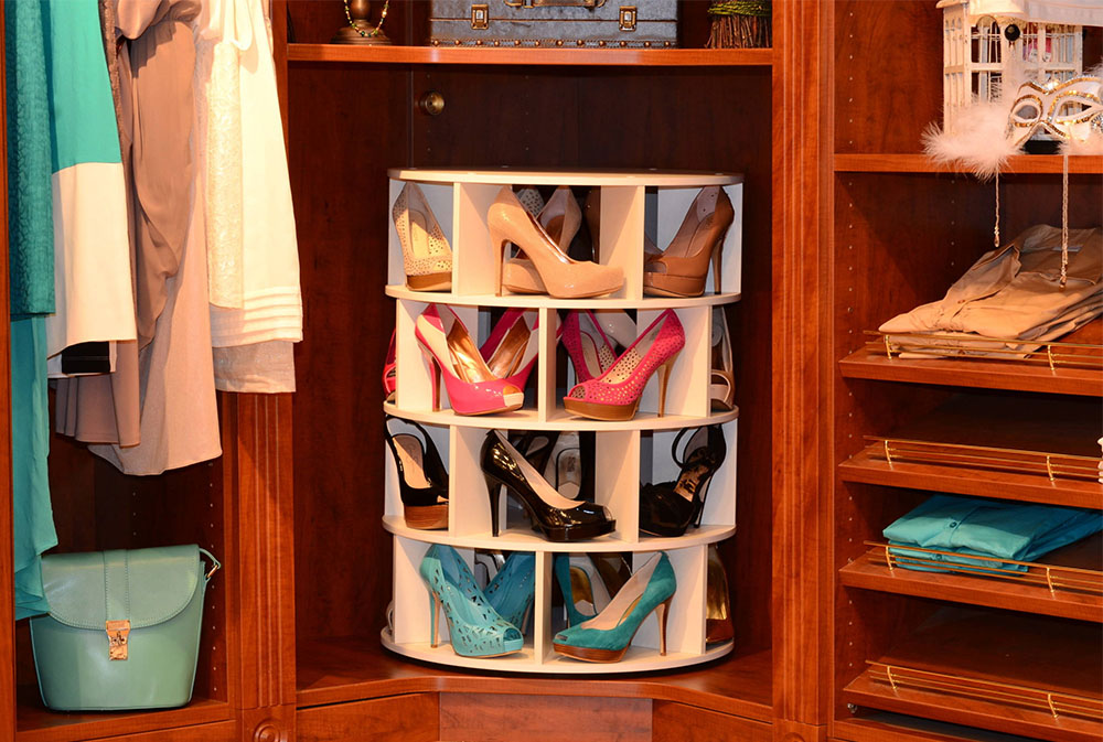 ShoeCase Shoe Carousel By April C. Schmidt Shoe Rack