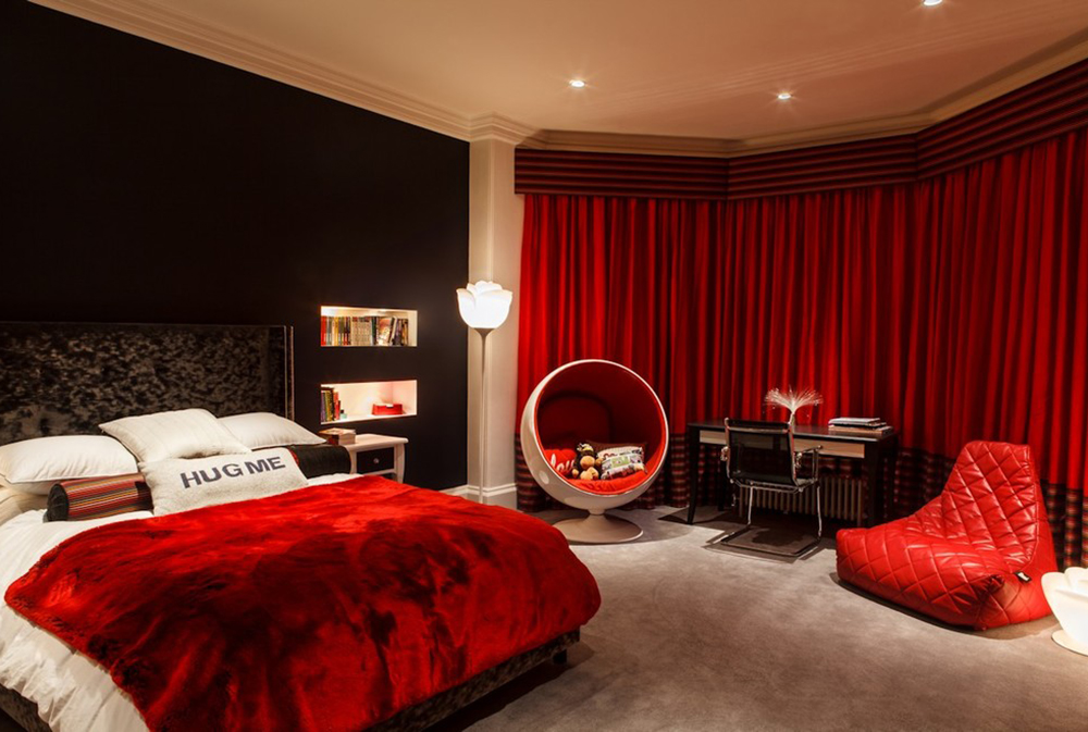 A Age Pad By Brilliant Lighting Red Bedroom Ideas Decor