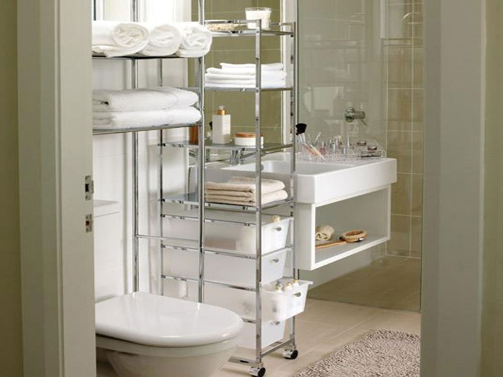 Bathroom Tower Storage Small Design Hacks That Will Transform Your