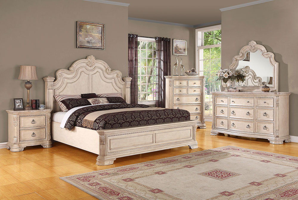 White Wood Bedroom Set On Bedroom Pertaining To