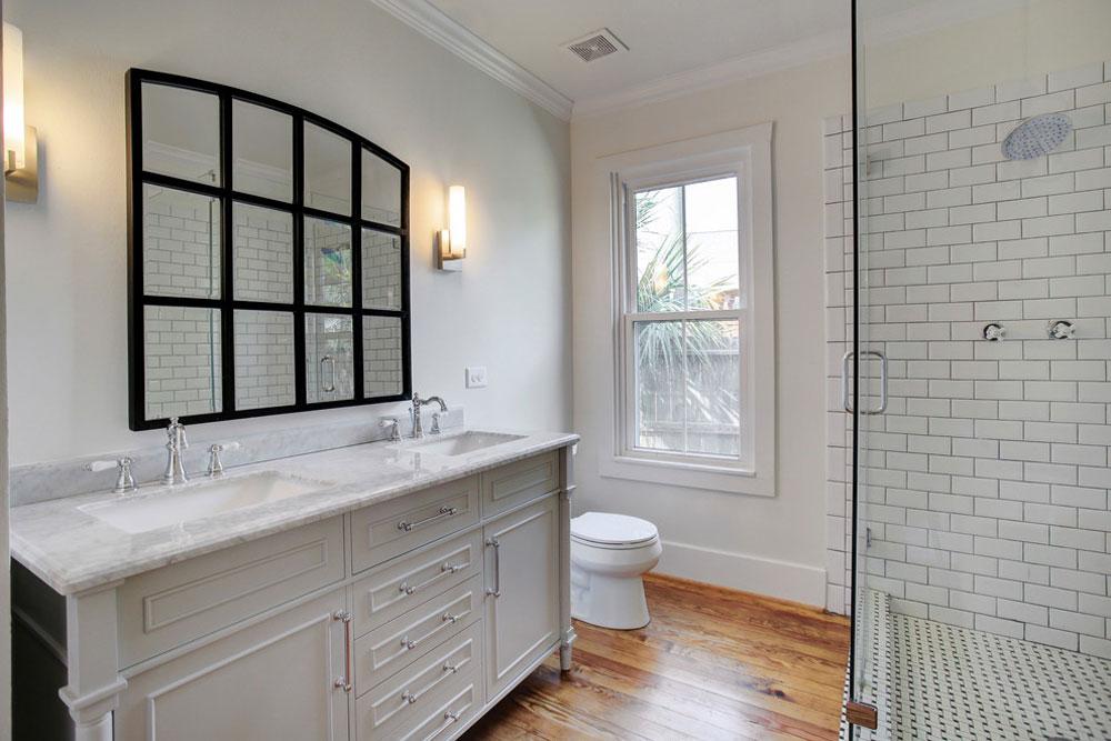 1920s Bungalow By GEI Homes Design Farmhouse Bathroom: Décor,
