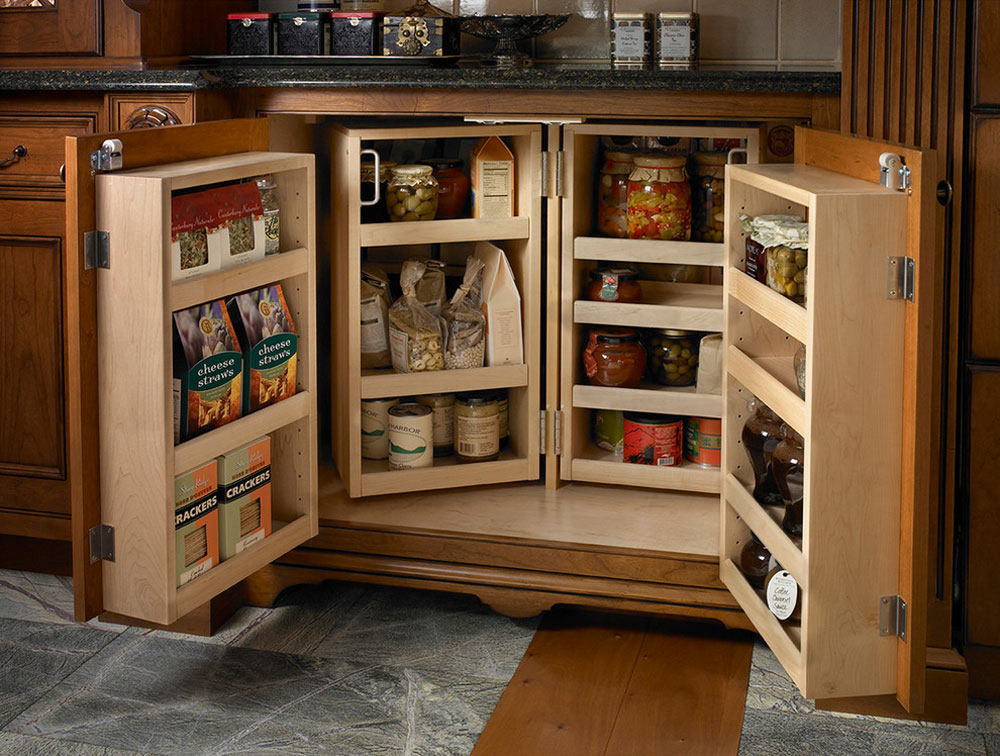 Pantry cabinet ideas: Shelving and storage ideas for your ...