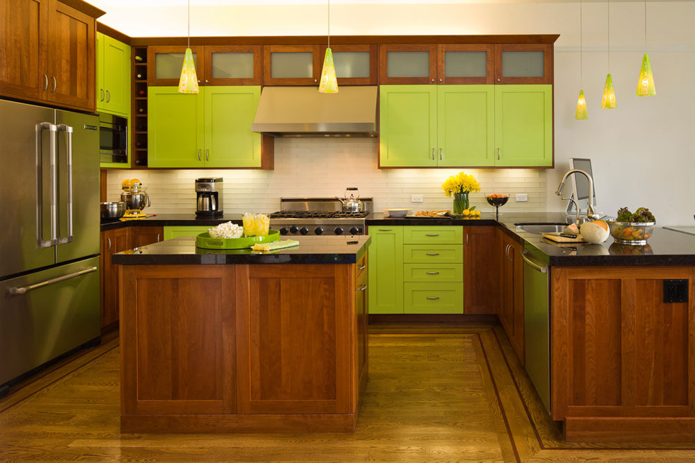 Green Kitchen Ideas Decor Curtains And Accessories