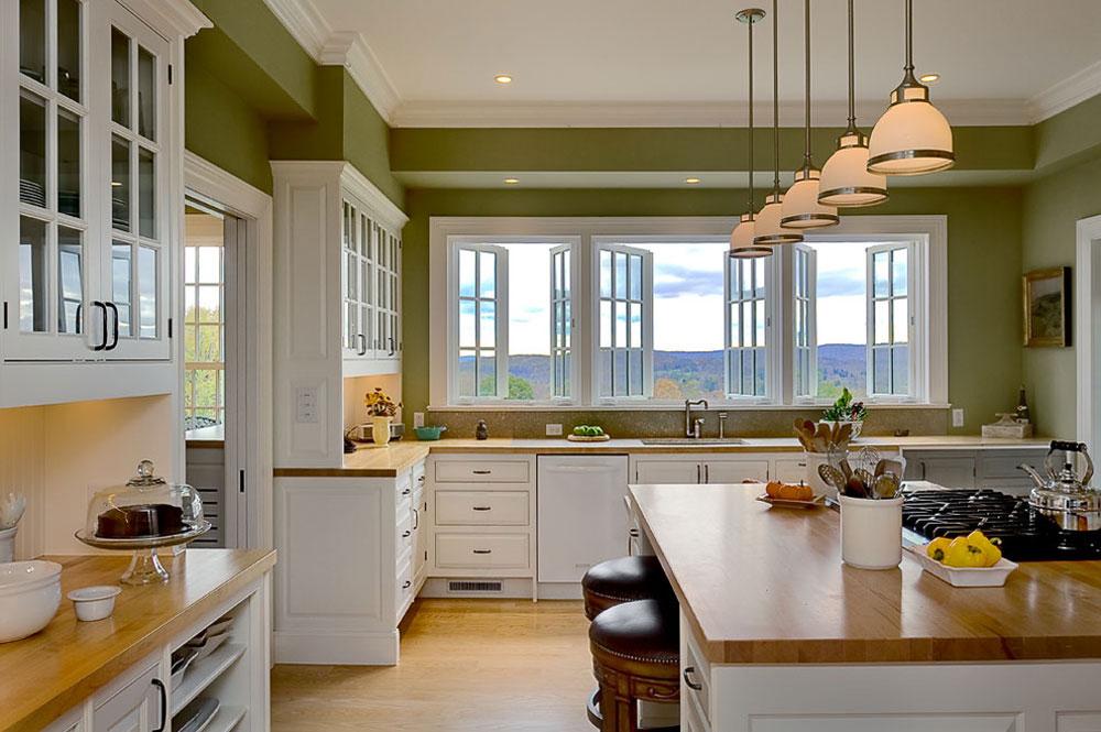 Kitchen Ideas Decor.Green Kitchen Ideas Decor Curtains And Accessories