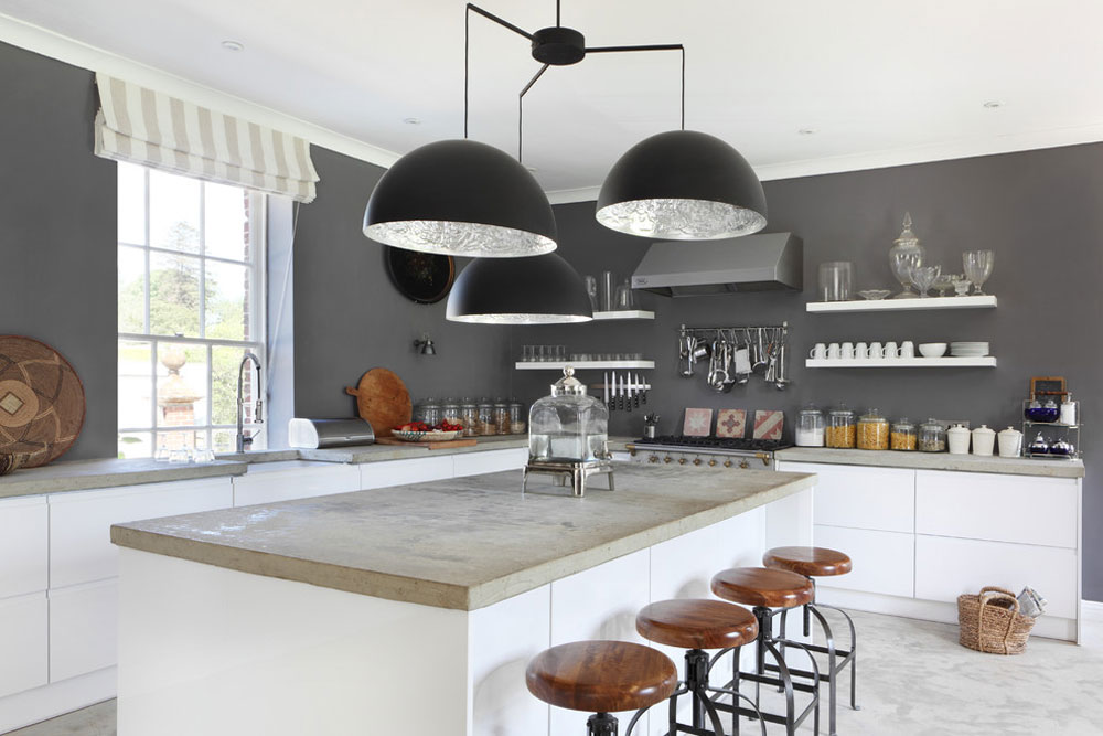 Dorset Stable Conversion By VSP Interiors Concrete Countertops: Pros And