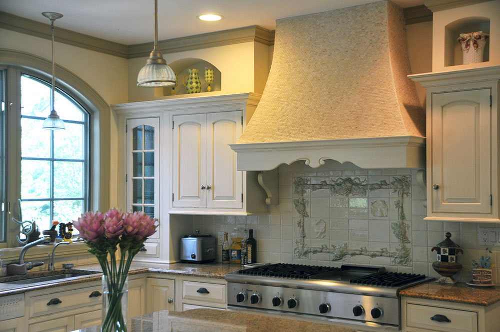 French Country Kitchen Decor Cabinets Ideas And Curtains