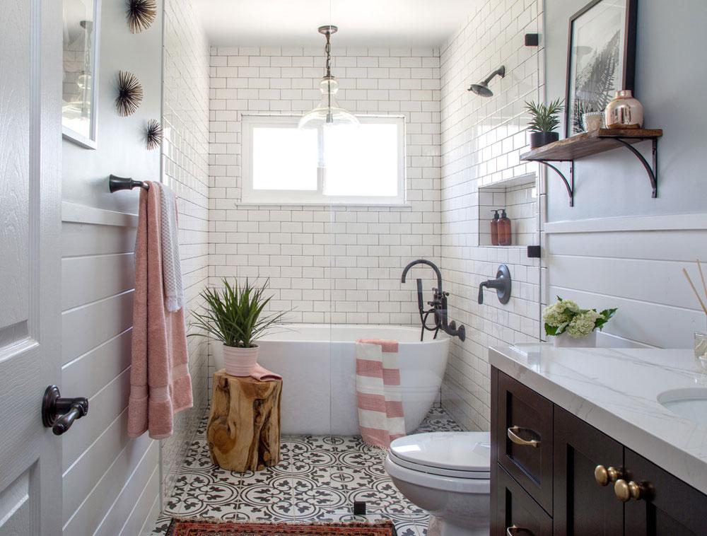 Farmhouse Bathroom Decor Ideas Lighting And Style