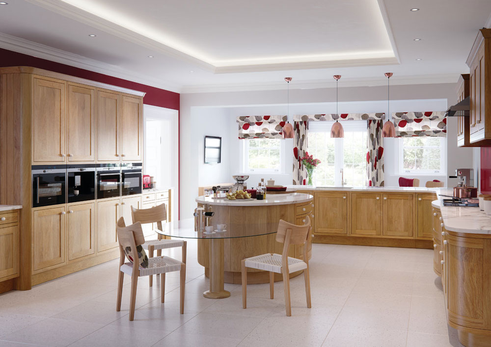 Kitchen curtains: Modern and country window curtains