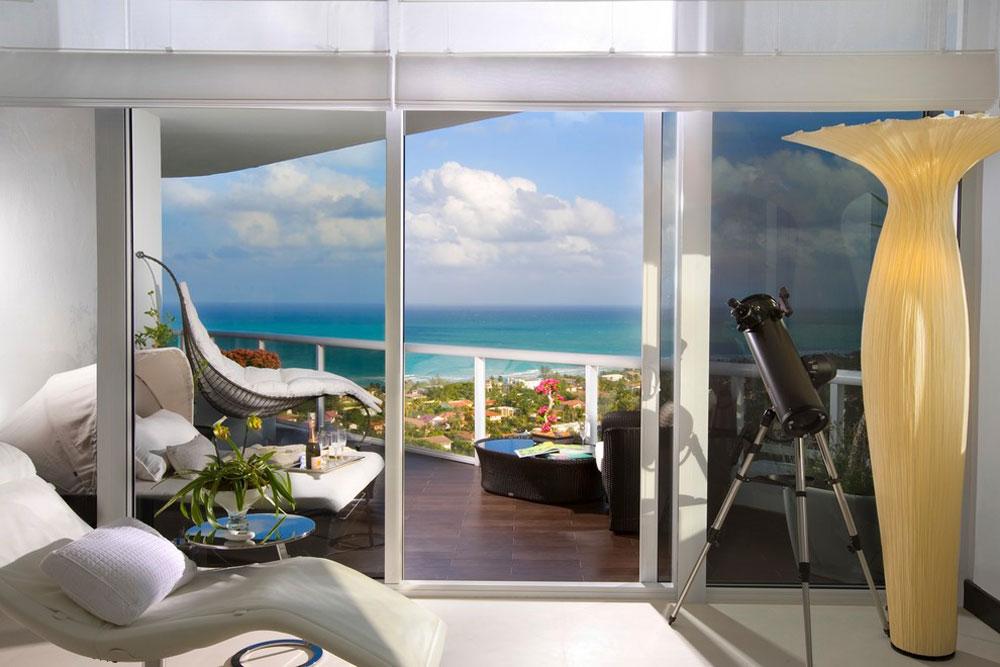 Modern Patio By Brittocharette Futuristic House Designs: Furniture And Home  Décor Style