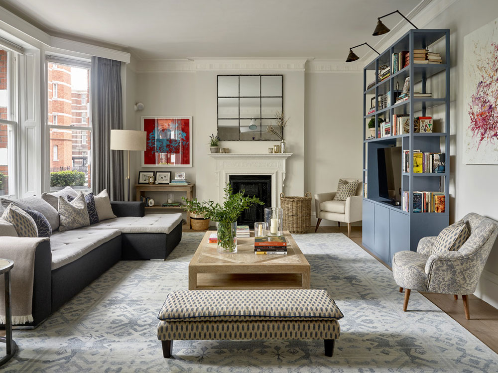 Earls Court Modern Apartment By Lisette Voute Designs Decorating