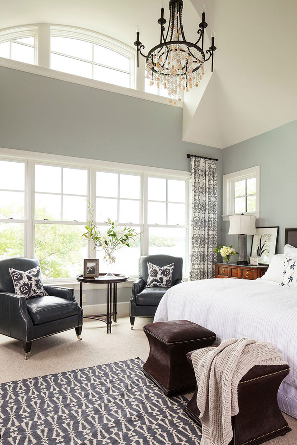 Palmer Point Road Residence 2 Master Bedroom By