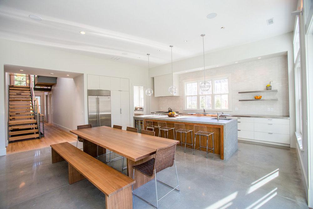 Polished concrete floor: Advantages and
