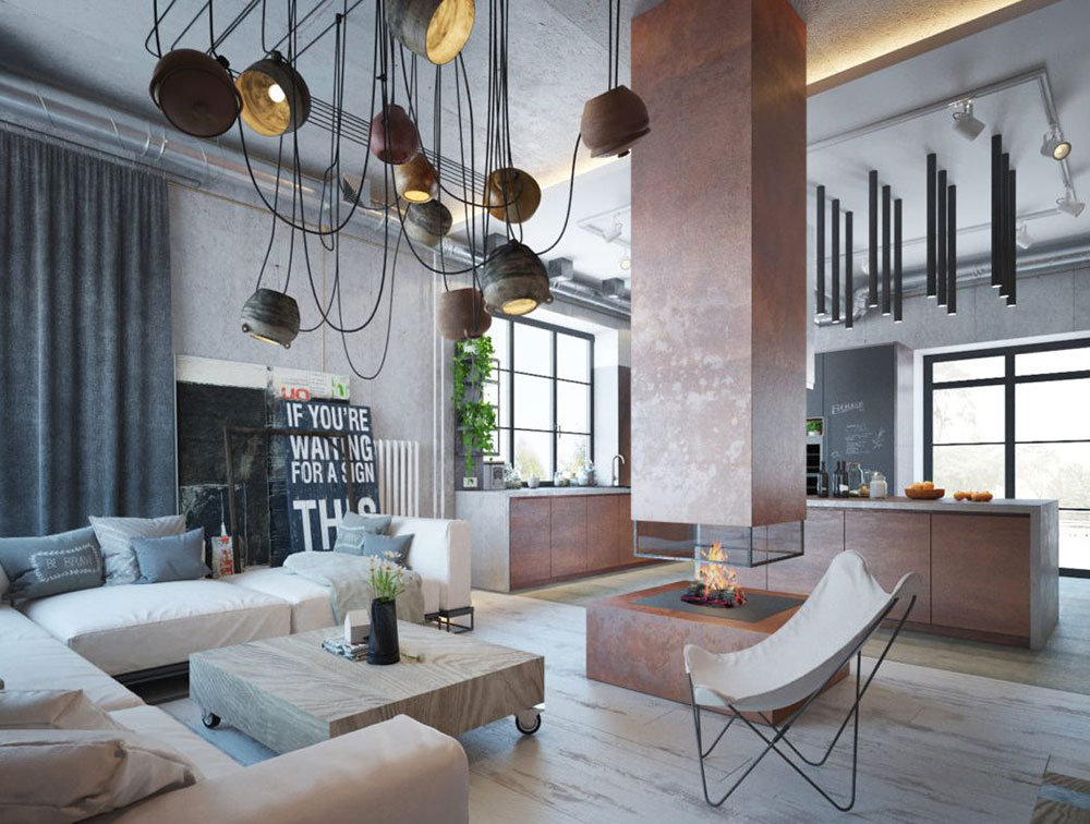 Modern Industrial Interior Design: Definition & Home Decor on interior design for houses, architecture for houses, architectural drawings for houses, stage design for houses,
